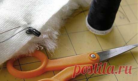 Технология работы с мехом | Как сшивать шкурки натурального меха