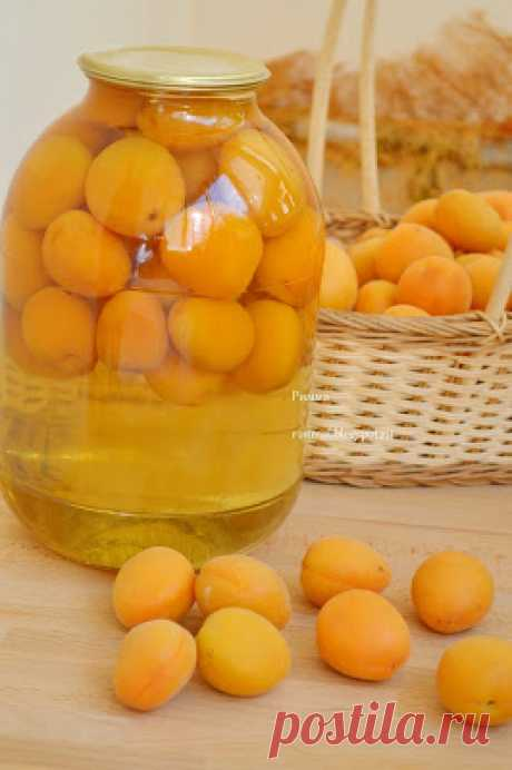 """Compliment from the CHIEF: Apricot compote for FM """"Десерт in банке"""""""