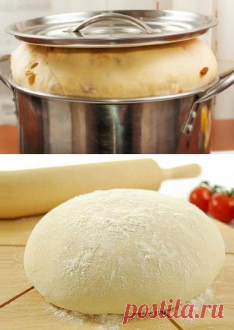3 проверенных рецепта теста на кефире | Четыре вкуса