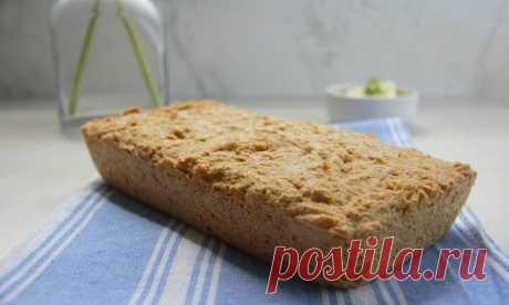 Рецепт кето хлеба из льняной муки (с подсчётом БЖУ)