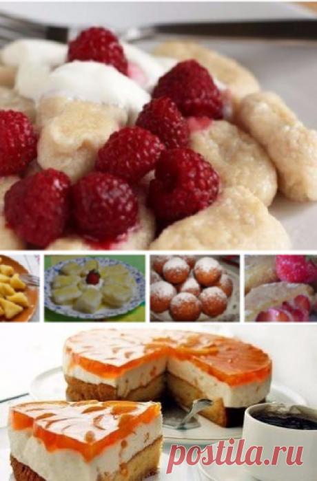 Десерты и выпечка