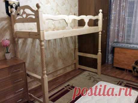 Двухъярусная детская кровать своими руками / Я - суперпупер