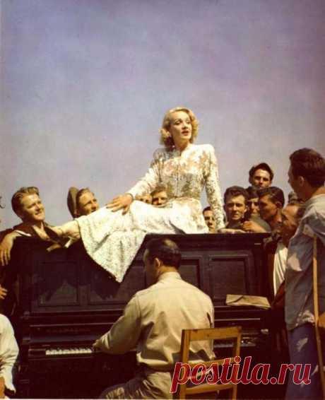Редчайшие цветные снимки Второй мировой войны