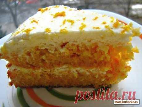 Морковный торт со сметанным кремом Морковный торт со сметанным кремом     Приготовление Рецепт Станиславы с калабаса.ру. Спасибо огромнейшее!!! Меня сначала покорило описание этого торта, а потом и сам торт.  Я его пекла даже в гости!…