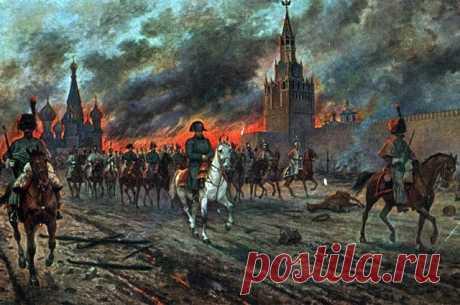 Непонятные и загадочные факты об истинной цели Наполеона в России - 1812 год