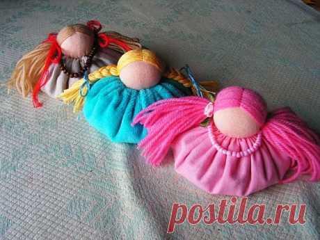 МК по изготовлению куклы зерновушки / Вальдорфская кукла / PassionForum - мастер-классы по рукоделию