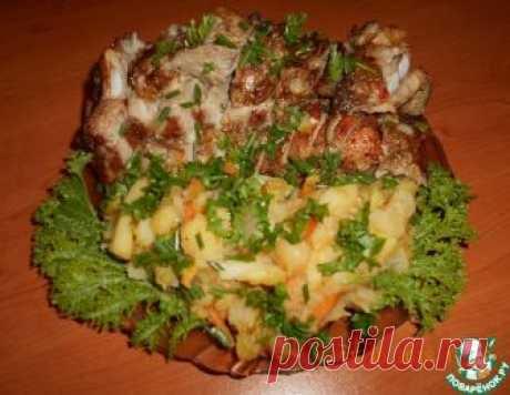 Грудинка с овощами, запеченная в духовке – кулинарный рецепт