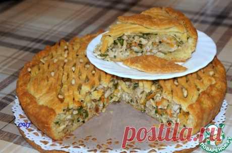 Пирог с курицей - кулинарный рецепт