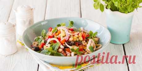 Cредиземноморский салат из кальмаров : Салаты : Кулинария : Subscribe.Ru