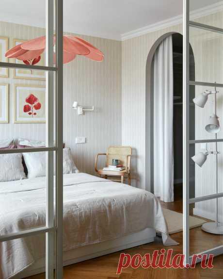 Маленькая квартира с яркими акцентами, 46 м² | AD Magazine Russia | Яндекс Дзен