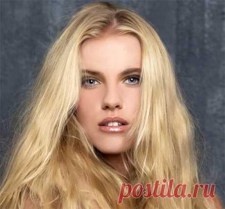 Золотистый блонд: кому он подходит