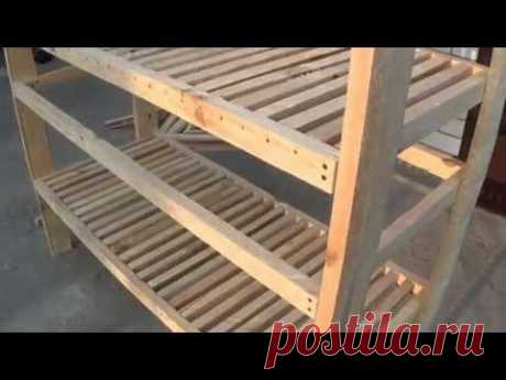 Клетка для кроликов, пошаговавая постройка (rabbit-hutch)