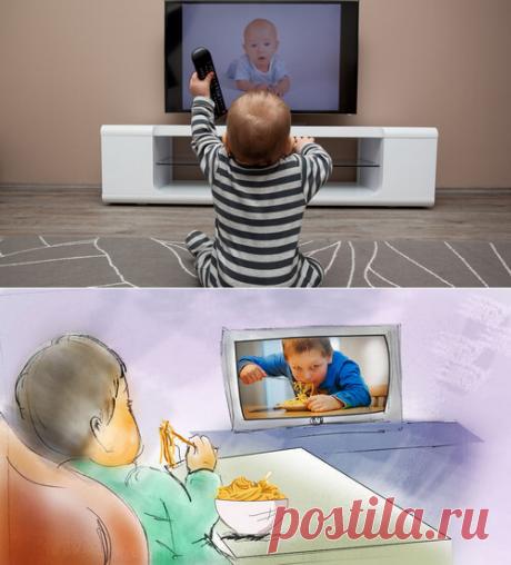 Что делать, если ребёнок слишком много смотрит телевизор?