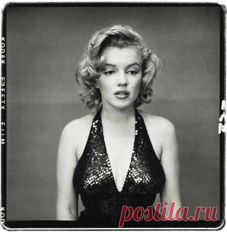 Мерилин Монро 1957 г. фотограф Ричард Эйвдон.