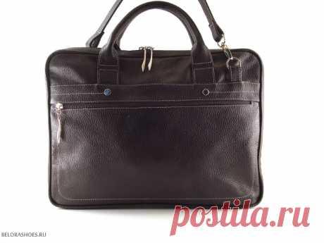 Портфель унисекс Гранд, коричневый - сумки. Купить сумку Sofi