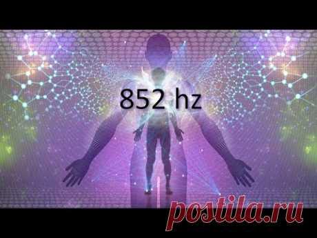 Частота любви 852 Гц, Поднимите вибрацию энергии, Глубокая медитация, Исцеляющие тона