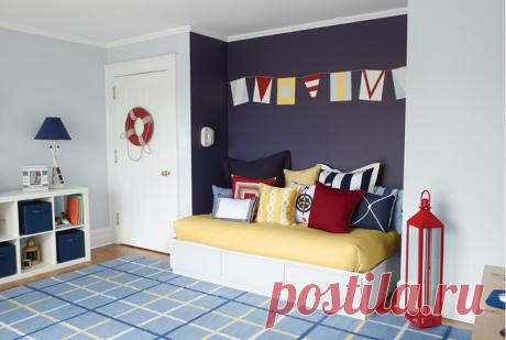 Почему необходимо красить стены в два и более цвета | Мой дом