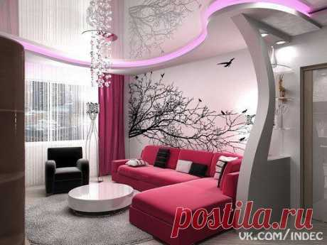 Шикарная идея для однокомнатной квартиры.