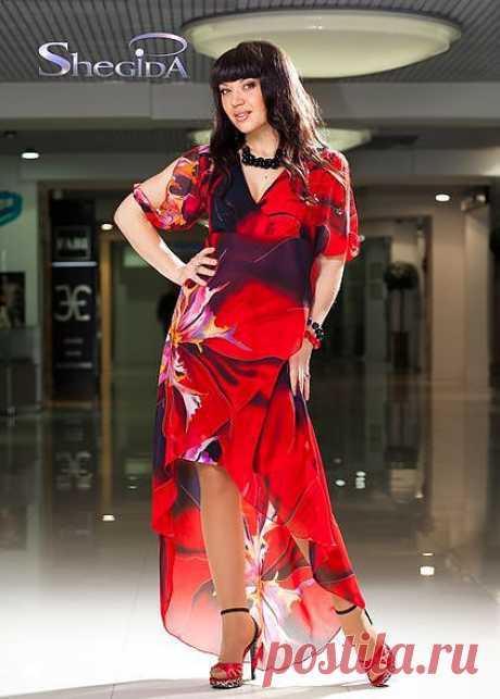 платье Шегида всегда современный модный и привлекательный дизайн в производстве женской одежды.
