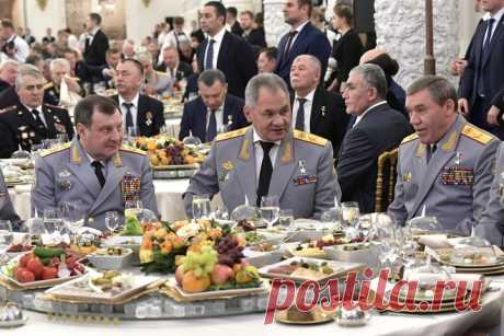 Шеф-повар рассказал, как изменилось меню на кремлёвских приёмах