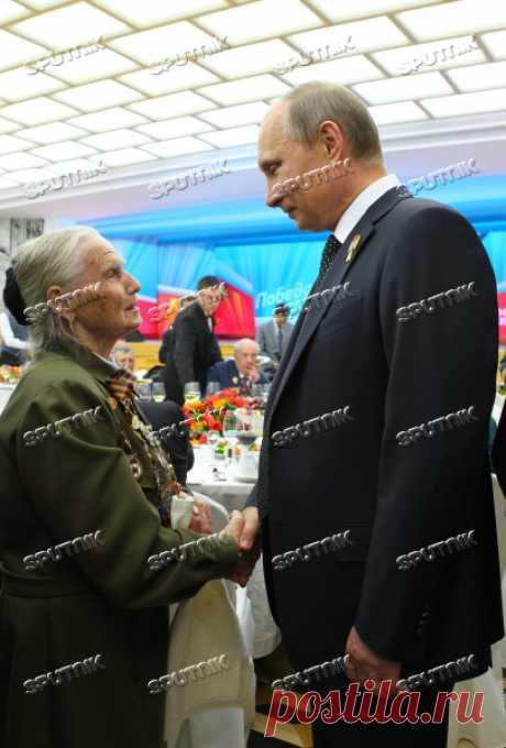 В.Путин дал торжественный прием в Кремле