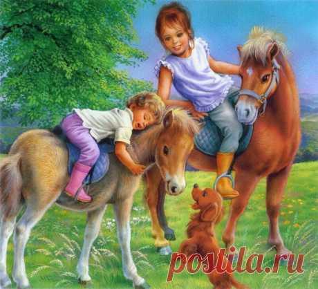 Добрые детские иллюстрации Марселя Марльер