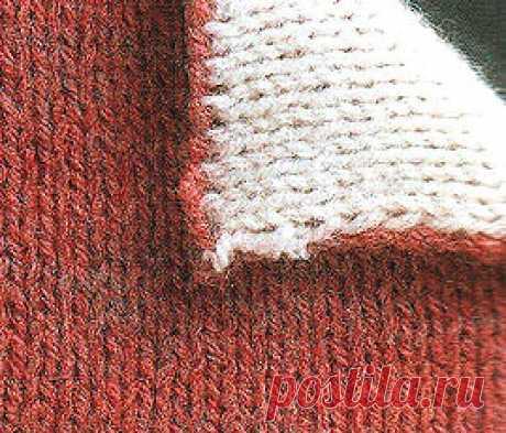 Узоры двустороннего вязания спицами и техника их выполнения.