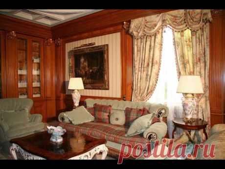 Элегантный Викторианский стиль в интерьере