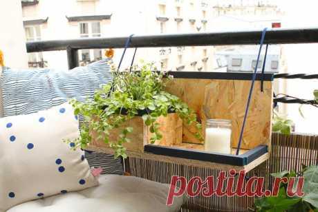 Скоро наступят теплые дни, а значит, самое время обновить балкон и украсить его цветами. В нашем мастер-классе показываем по шагам, как сделать подвесную полку для цветов своими руками. Подготовьте ваш балкон к весне — сделайте подставку для цветочных кашпо »