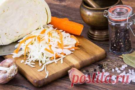 Капуста быстрого приготовления: рецепт салата со сладким перцем и чесноком