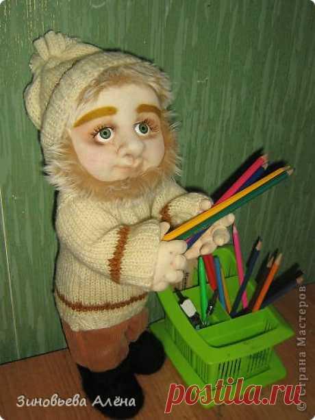 Валяние - ДОМОВНОК и как я делаю куклам головы