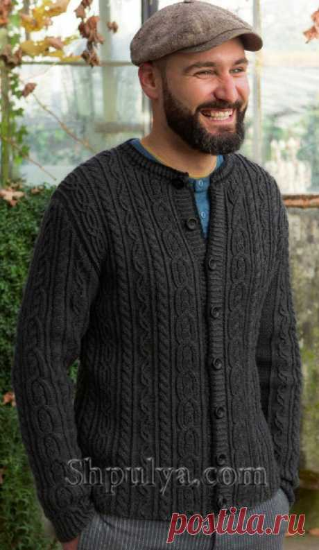 Man's jacket with braids spokes - SHPULYA.com