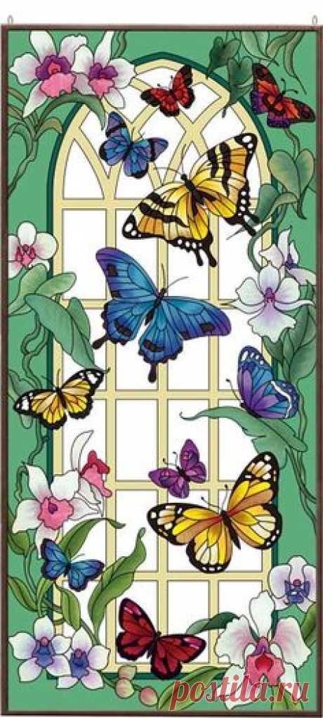 Art Panel-APM605R-Butterfly Garden - Butterfly Garden