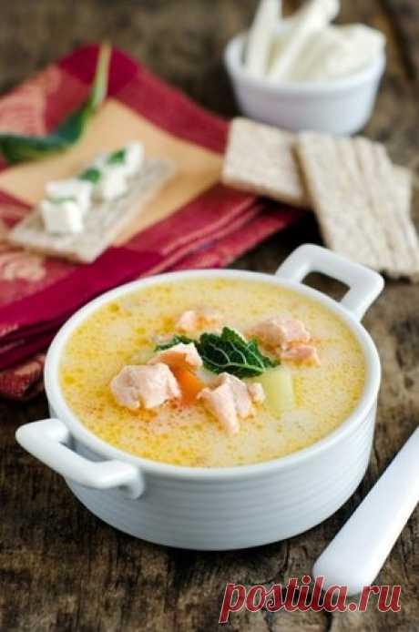 Как приготовить сырный рыбный суп  - рецепт, ингредиенты и фотографии