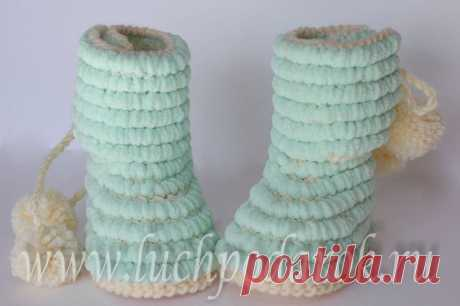 Простые вязание пинеток