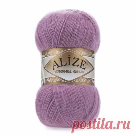 Пряжа Alize Angora Gold (28, Ярко-сухая роза)