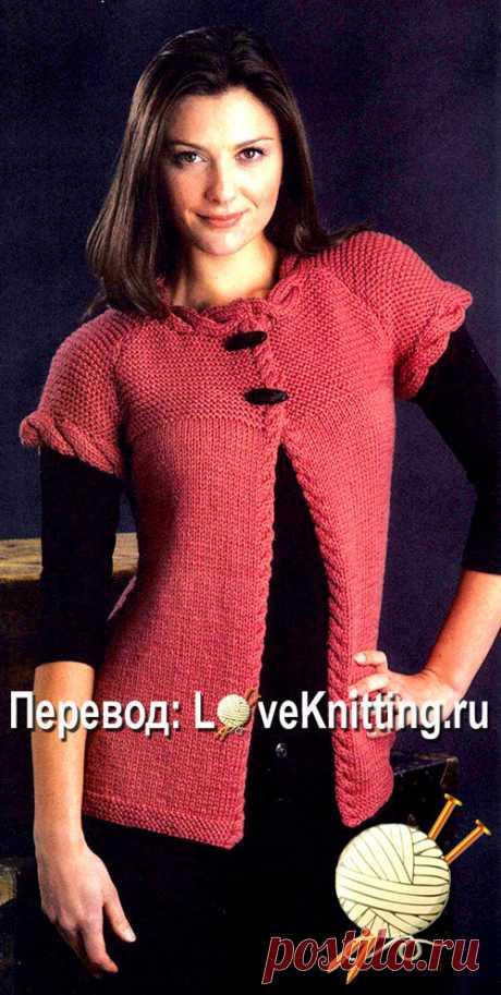 Жакет Chloe | Loveknitting.ru