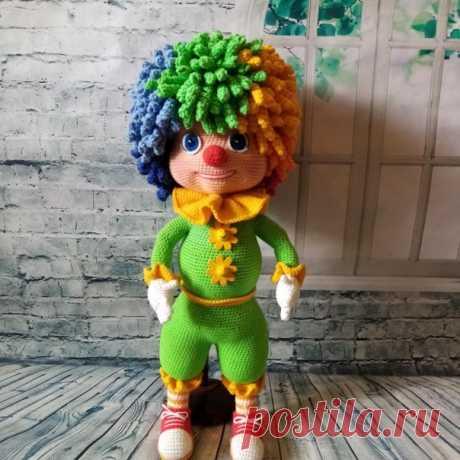 Клоун Семицветик. Куколки. Вязаная жизнь. игрушки. Амигуруми.  #клоунсемицветик #клоун #вязанаякукла #амигуруми #амигурумикуколка #вязание #вязанаяигрушка #вязанаяигрушкакрючком #игрушка #вязанаяжизнь #игрушкасвоимируками #амигурумикукла  #вашиработы