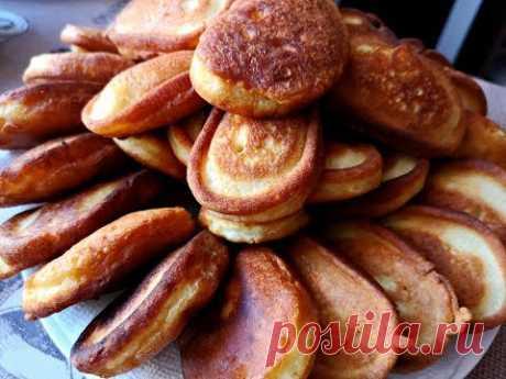Пышные Оладьи на Кефире(Кислом молоке).Очень легко.Pancakes/Fritters Recipe - YouTube