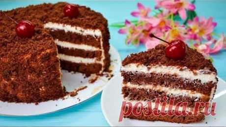 """Очень простой и вкусный шоколадный торт """"ПОЛЬ РОБСОН"""""""
