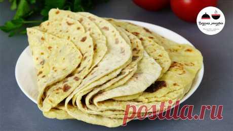 Лепешки вместо хлеба: готовлю их сейчас практически каждый день (нужно просто смешать картофель с мукой) | Кухня наизнанку | Яндекс Дзен
