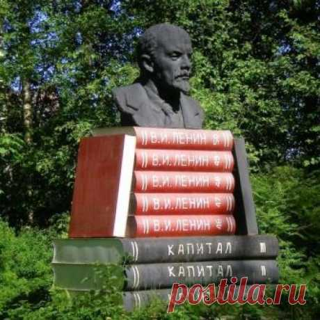15 самых странных памятников Ленину со всего света / Назад в СССР / Back in USSR