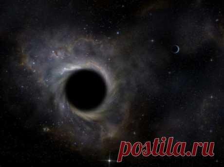 Как увидеть свой затылок с помощью черной дыры? . Тут забавно !!!