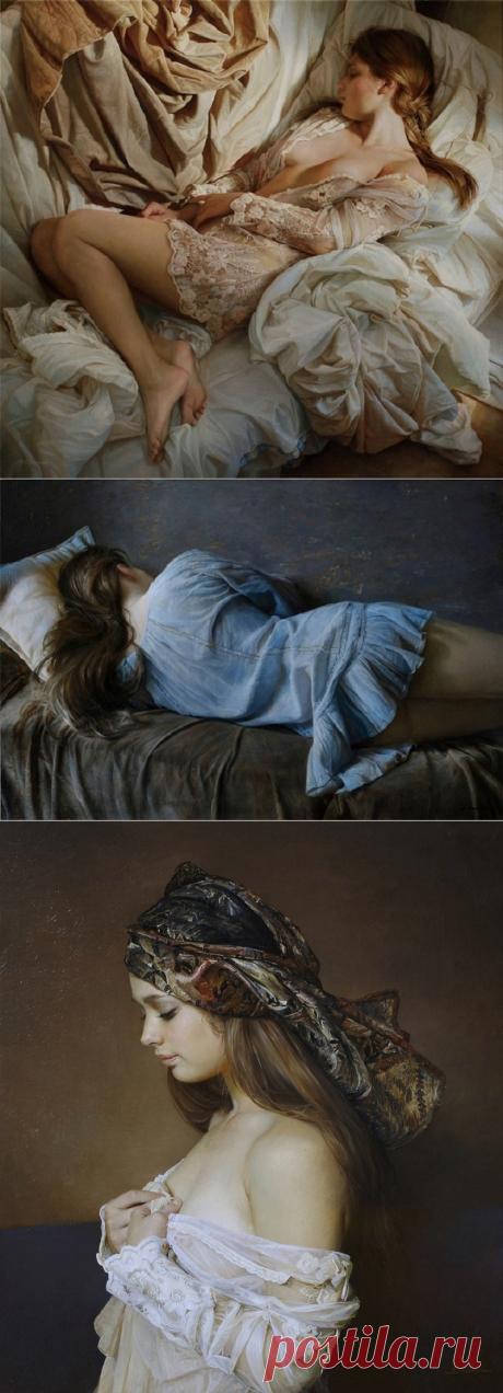 На первый взгляд, это фото спящей полуобнаженной красавицы. Но зайди и узнай ее секрет!