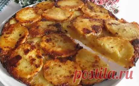 Картошка на завтрак. Выкладываем слоями с сыром и через 20 минут ставим на стол - БУДЕТ ВКУСНО! - медиаплатформа МирТесен