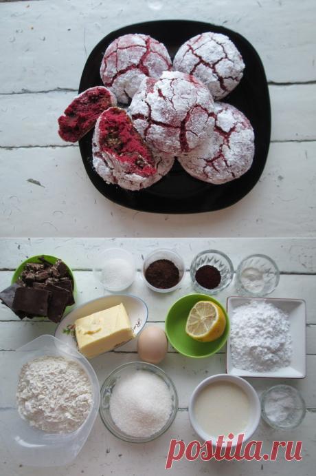 Знаменитое печенье «Красный бархат» - не просто модное, а потрясающе вкусное и уникальное блюдо - Пир во время езды