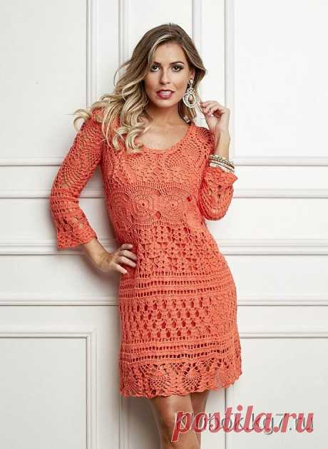 Orange miracle. A dress from the Brazilian website. | Ball