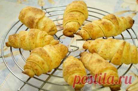 Творожные рогалики - пошаговый рецепт с фото - как приготовить, ингредиенты, состав, время приготовления - Леди Mail.Ru