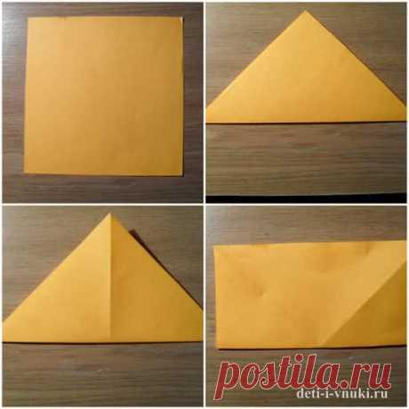 Тюльпаны оригами из бумаги своими руками | Дети и внуки