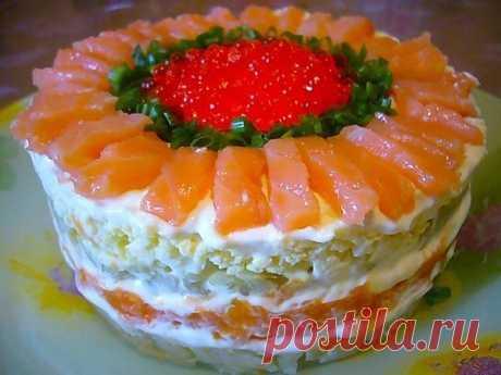 С наступающим!!! Еще 9 рецептов Новогодних салатов;)) — Вкусные рецепты